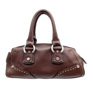 FRANCESCO BIASIA Pebbled-Leather Baguette